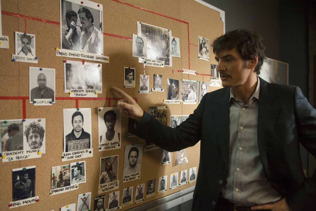 """PEDRO PASCAL stars in NARCOS. NARCOS S01E07 """"You Will Cry Tears Of Blood"""""""
